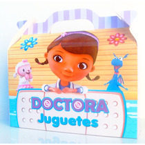Bolsita Valijita Doctora Juguetes Souvenir Pack X30