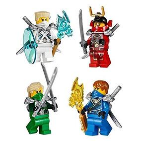 Lego® Ninjago - Set Of 4 Ninjas From Battle For Ninjago City