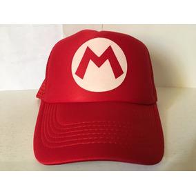 Gorra Mario Bros Gamer Friki Moda Novedosa Unisex