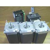 Kit Electronica Cnc 3 Ejes Con Motores Nema 34 De 122.3kg.cm