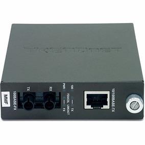 Media Converter St Mm Tfc-110mst Distancia 2km Trendnet.