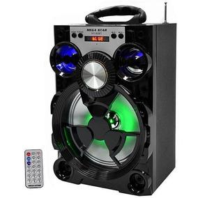 Caixa De Som Amplificada Karaokê Bluetooth/usb/sd/fm Oferta!