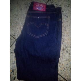 Jean Color Azul Talla 30 Strech Para Dama Con Logo