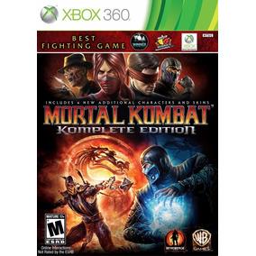 Mortal Kombat Komplete Edition Xbox360 Novo Lacrado