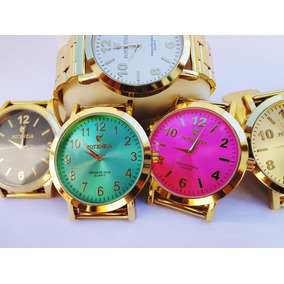 Kit 10 Relógio Masculinos Multi Marcas -lote Revenda