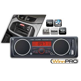 Winnpro Som Automotivo Com Alto Falantes Integrados, Radio