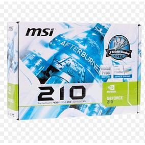 Tarjeta De Video Geforce 210 1gb Ddr3 Msi Pci Express 2.0