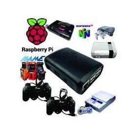 Vídeo Game Retro Raspberry Pi3 + Batocera 32gb + 2 Controles