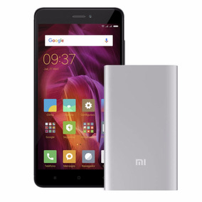 Celular Libre Xiaomi Redmi Note 4 Negro + Powerbank 5000 Mah