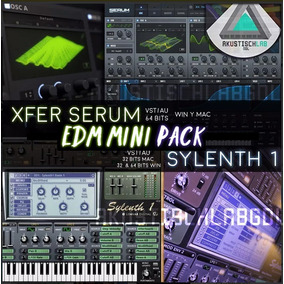 Serum + Sylenth1 Pack Synth Edm Win | Mac Vst Plug Ins Spire