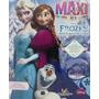 Libro Frozen Una Aventura Congelada - Maxiformato 38 X 48 Cm