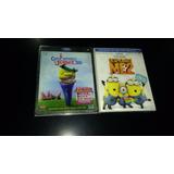 Gnomeo Y Julieta / Mi Villano Favorito 2 / Bluray 3d+2d+dvd