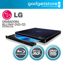 Blu-ray Writer Ultra Slim Externo Dvd Cd 3d Usb Lg Bp50nb40