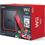 Consola Wii Mini Con Mario Kart Wii Game - Roja