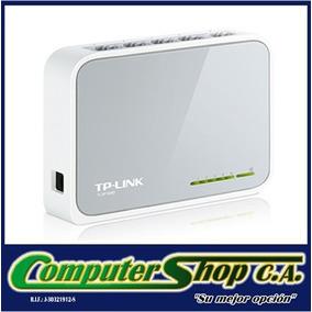 Switch De 5 Puertos 10/100mbps Tp-link Modelo Tl-sf1005d