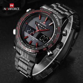 Relógio Masculino Naviforce 9024 Esportivo Digital Analógico