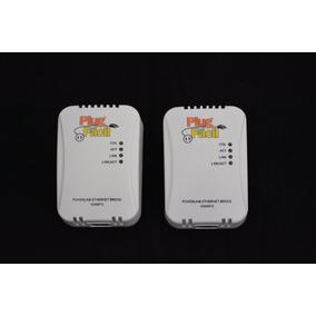 Conversor De Internet Via Rede Elétrica Plug Fácil 56mbps