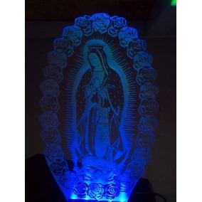 Virgen De Guadalupe Lámpara Led