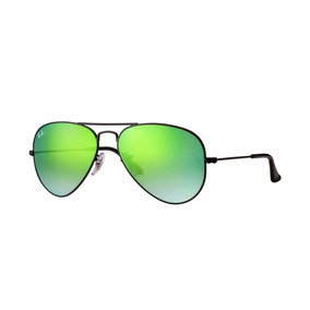 Lentes Ray Ban Rb3025 002 4j Aviador 58mm Verde Degradado e6f41d139a
