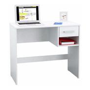 Escritorio Con Cajón Y Un Estante/oficina- Mueblespopulares