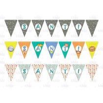 Banderines Personalizados Para Cualquier Evento