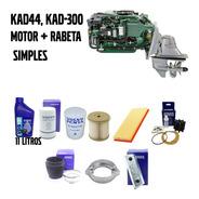Kit Revisão Simples Kad 300 Volvo Penta Óleo Filtro Rotor