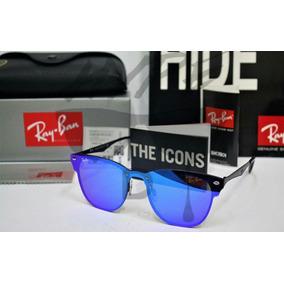 Rayban Clubmaster Azul Espelhado De Sol Ray Ban - Óculos no Mercado ... 4ff944e405