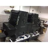 Máquina Litográfica Offset Moz-2 1/2 Pliego Heidelberg 1989
