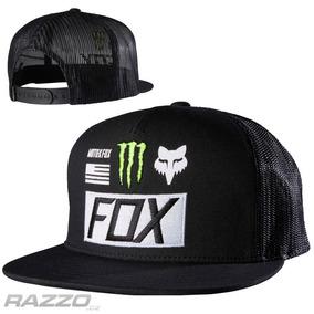 Gorra Monster Fox Racing 58038 Envio Gratis en Mercado Libre México 72182bffb66