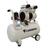 Compressor Ar 2hp 50 Litros S/ Óleo 220v Compbrasil 1500-50l