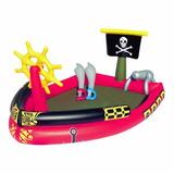 Inflable Pileta Pelotero Barco Pirata Bestway 53041 Educando