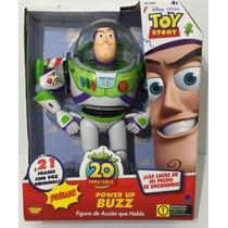 Muñeco Buzz Lightyear Power Up Con Luces Y Voz 30cm Original