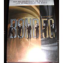 Colección 50 Años James Bond 007 Bluray 23 Peliculas