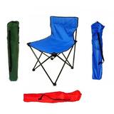Silla Plegable Camping Pesca Bolso Caza Jardin Playa