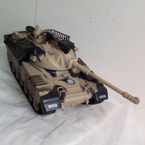 Tanque De Guerra Com Controle Remoto Atira De Verdade ()