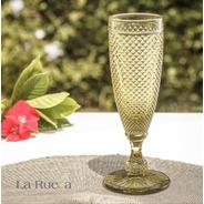 Copas Champagne Jaca Verde