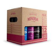 Cajota Feliz 12 Pack Mix De Cerveza Minerva