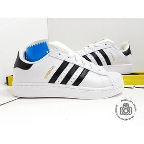 official photos c18c1 bbe3b adidas Superstar Concha Adicolor Blanco Negro Dama Tenis