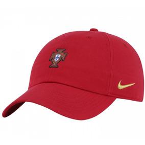 Boné Portugal Nike Cap Core H86 Vermelho Aba Curva Original 86cdf2896c7