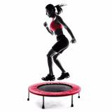 Cama Elástica Jumping Jumper Academia Casa Apartamento Fit
