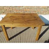 Muebles De La Carreta Tigre - Mesa 1.20 Maciza Pino