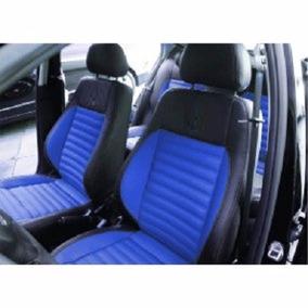 Capas Automotivas De Couro Artificial Azul Gol G5 Novo G6