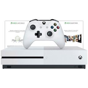 Xbox One S 1tb Branco 3 Meses Live Gold 3 Meses Gamepass 23