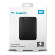Wd Disco Duro Externo Elements 4tb