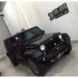 Bumper Paragolpes Jeep Wrangler 2 Y 4 Puertas,porta Malacate
