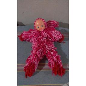 Boneca De Lã Caseira Artesanal Criança E Adulto Linda