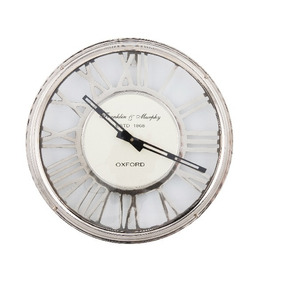 Relógio Flamant Oxford Cromado