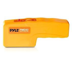 Pyle Pmd43 Detector De Metal / Voltaje De Mano Con Led / Al