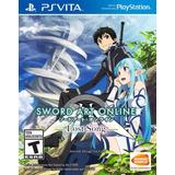Nuevo Original Sellado Ps Vita Sword Art Online Lost Song