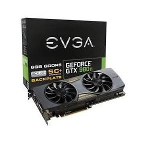 Placa De Video Geforce Gtx 980ti Evga Sc Acx 2.0+ Backplate